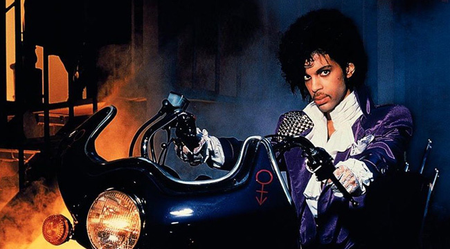 Prince 80s Purple Rain